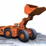 Toro 007 mine Excavator1